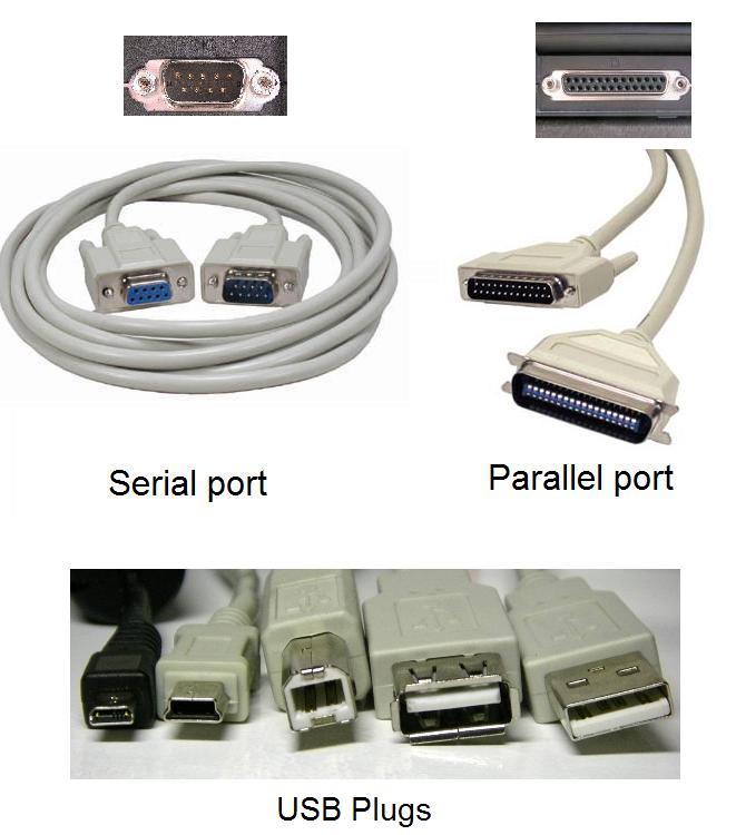 Blog archives daviderogon - Parallel port and serial port ...